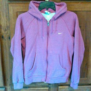 Nike zip up hoodie.
